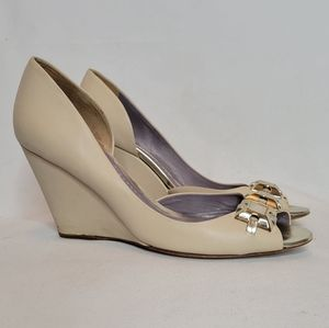 Anya Hindmarch Wedge Shoes Womens Size 10M